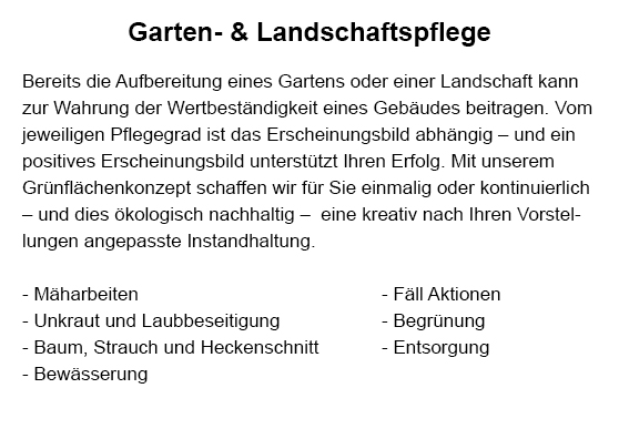 Gartenpflege im Raum  Marbach (Neckar)