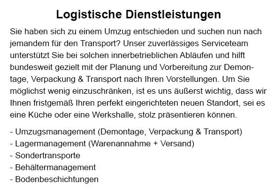 Gebäudemanagement für  Altdorf