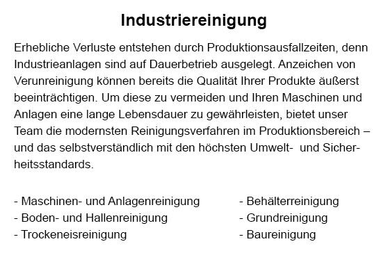 Industriereinigung für  Altdorf